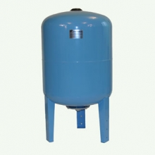 Гидроаккумулятор 100л. (вертикальный) пластиковый фланец