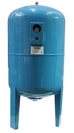 Гидроаккумулятор 100л. (вертикальный) с манометром