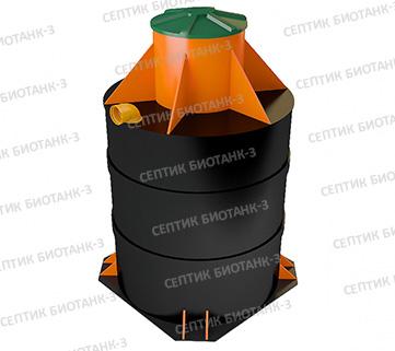 Септик Биотанк-3 (круг. корпус) пр