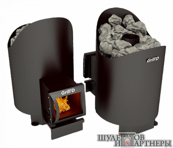 Печь-каменка Grill`D Aurora 160 Long  black