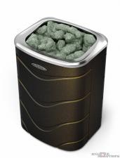 Электрокаменка Примавольта 6кВт черная бронза